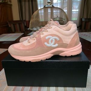 Chanel CC Sneakers size 39 1/2